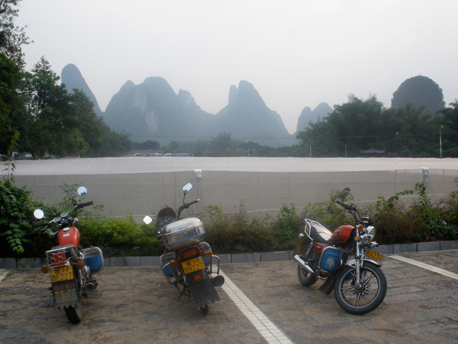 3 motorcycles
