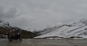 Lunch break at our second mountain pass at 4,000m