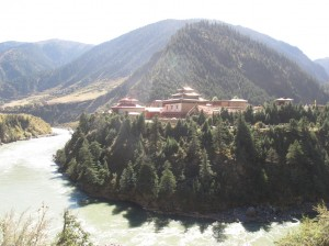 Some of the beautiful Tibetan style landscape
