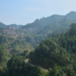 In the mountains near the Longping Lower School in Guangxi