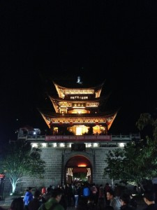 Wuhua Tower in Dali Old Town