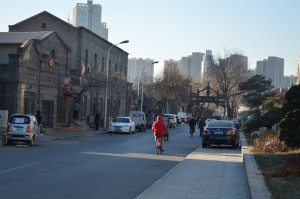The colonial style streets of Tianjin