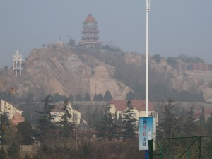 An unexpected giant Buddha out of Tianjin