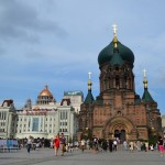 The Saint Sophia church in the main square of Harbin, Heilongjiang province